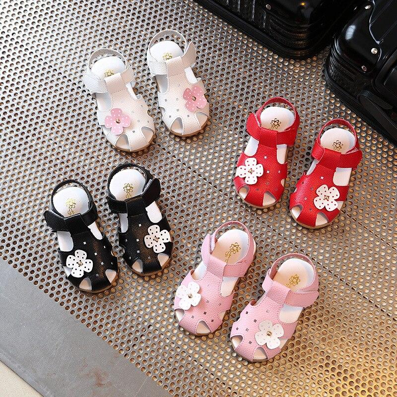 Maluchy Śliczne Stylowe Sandały Dziecięce Letnie Sandały Flora - Obuwie dziecięce - Zdjęcie 2