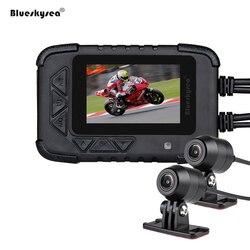 Blueskysea de DVR DV688 de cámara de acción Dual 1080 p visión nocturna