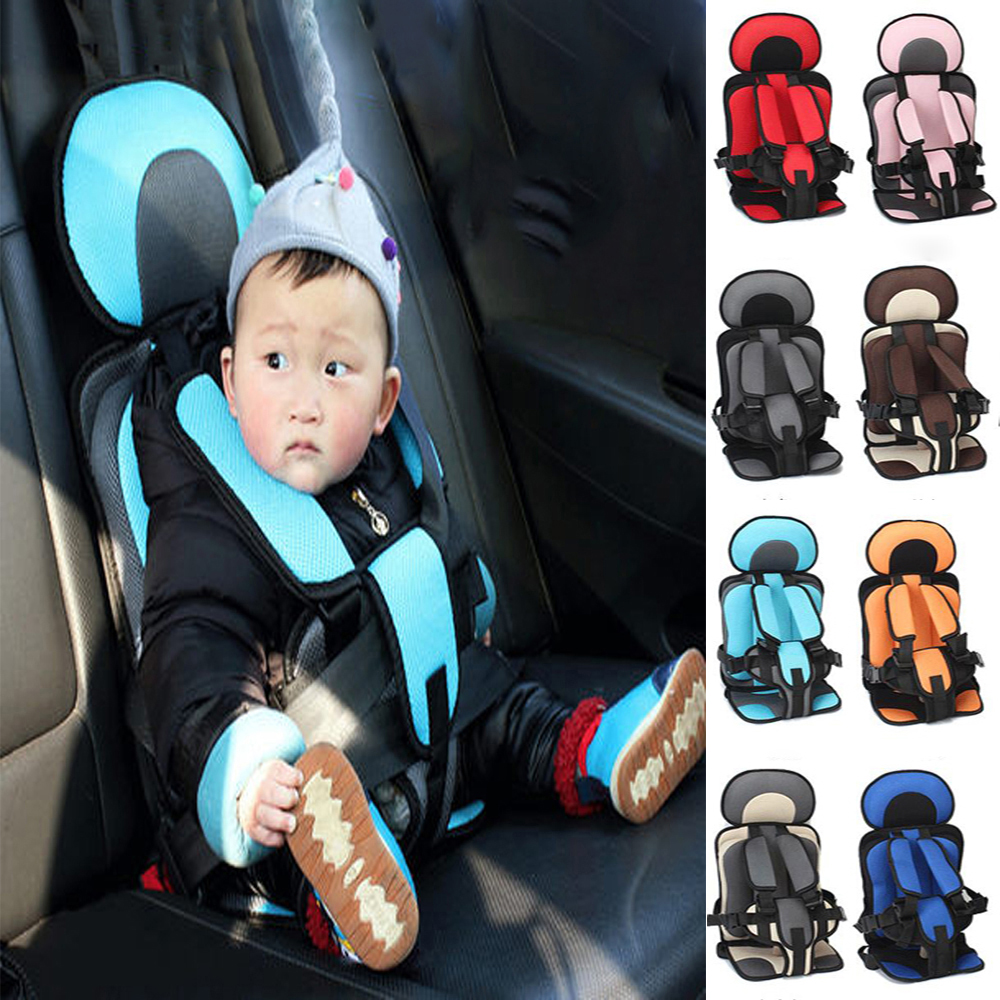 Portable Infant Safe Seat Baby Car Seat Children's Chairs Children Safety Seat Updated Version Thickening Sponge Kids Car Seats