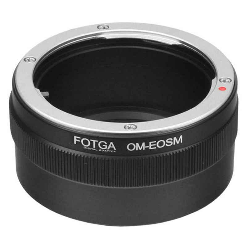 Fotga OM-EOSM เลนส์อะแดปเตอร์สำหรับ Olympus OM เลนส์ Canon EF-EOS M M100 M10 M6 M5 M3 M2 กล้อง Mirrorless