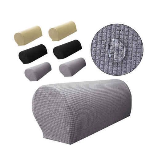 2x للإزالة الذراع تمتد أريكة الأريكة كرسي حامي كرسي يغطي مسند الذراع غطاء أريكة