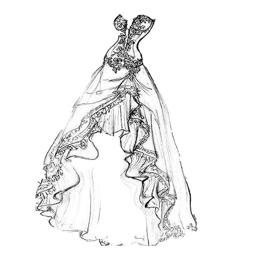PANFELOU Cao Quý lady wedding dress thủ công kim loại giấy chết cắt chết Scrapbooking/DIY Dập Nổi Valentine thẻ Ngày của