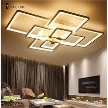 AZUL TIEMPO Plafonnier LED Rectángulo Moderna Lámpara de Techo Para la Sala de estar Dormitorio Moderno Led Del Techo de La Lámpara Fixture