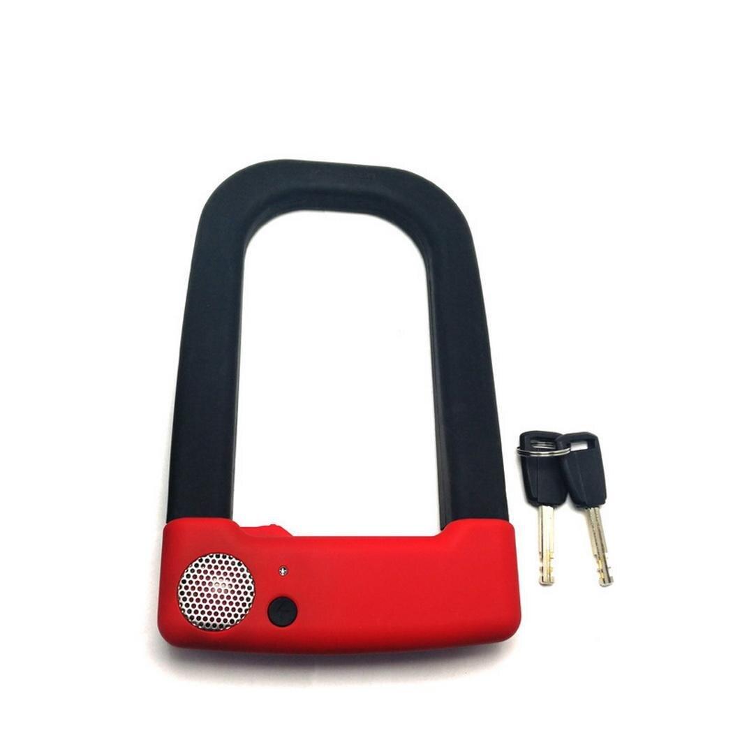 Moto vélo vélo vélo serrure avec 2 clés 85 cm sécurité noir cyclisme, extérieur, etc LK-AX1 120g antivol