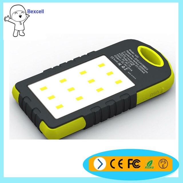 Конкурентоспособная цена с СВЕТОДИОДНЫЕ фонари портативные солнечные 8000 мАч baterias externas