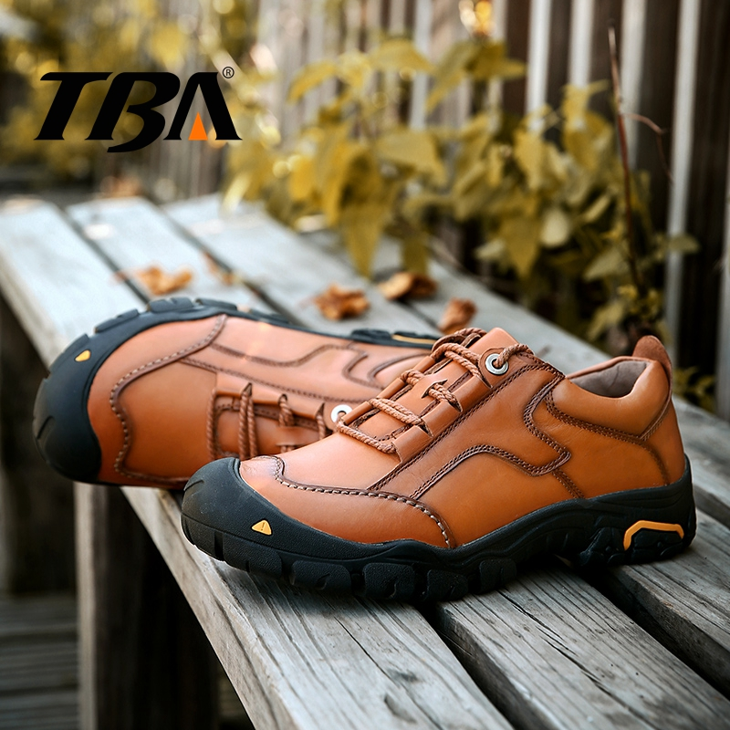TBA Men's Winter Sneakers Breathable Hiking Shoes Trekking Boots Leather Outdoor Mountain Trail Men's Shoes Top Rubber Sneakers 2017 tba men s shoes hunting mountain shoes lace up suede leather martin boots breathable outdoor hiking shoes t5983