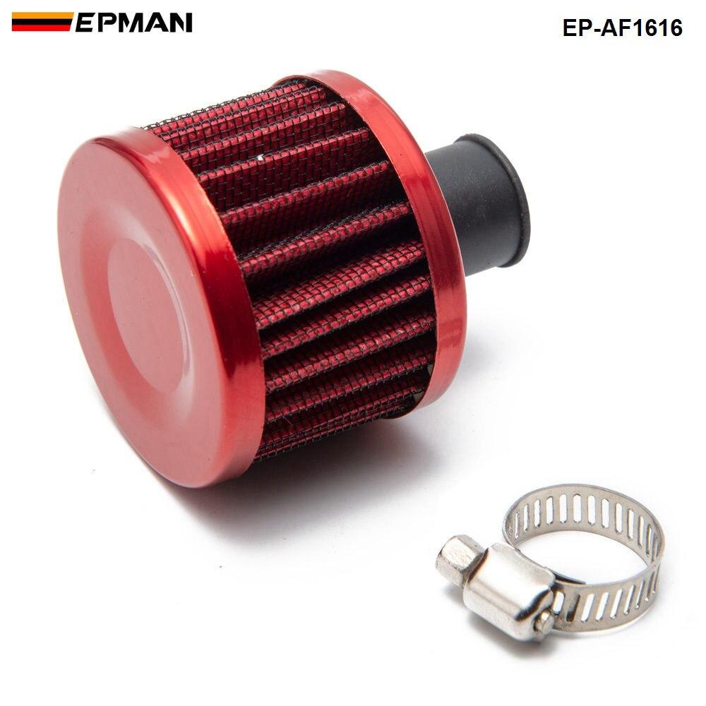 1 шт. Универсальный потока воздуха фильтр 51*51*40(Шея: 11 мм) изменение воздушного фильтра для BMW E30 3-ей серии EP-AF1616-1P - Цвет: Красный