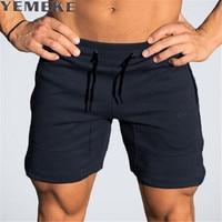 YEMEKE Summer Men S Shorts 2XL 2017 Casual Men Beach Shorts Breathable Trouser Male Shorts Brand