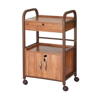 Купить с кэшбэком Beauty cart Chinese style with drawer tools cabinet fire cupping traditional Chinese medicine tool car beauty salons.