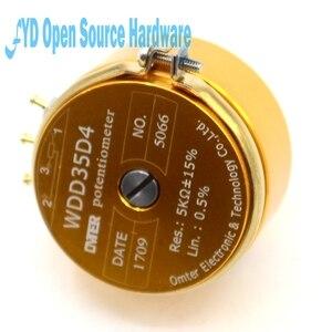 Image 4 - 1 шт., точный проводящий пластиковый потенциометр, датчик углового перемещения 1K, 2K, 5K, 10K, линейный 0.5%
