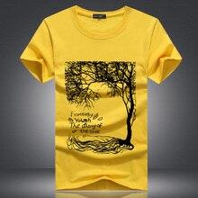 New Summer Brand large size T-shirt man round collar short s
