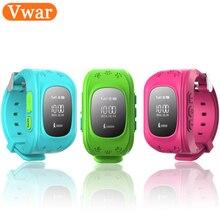 Original Vwar Q50 GPS Smart Kid Safe smart Watch SOS Call Location Finder Locator Tracker for Child Anti Lost Monitor Baby Son