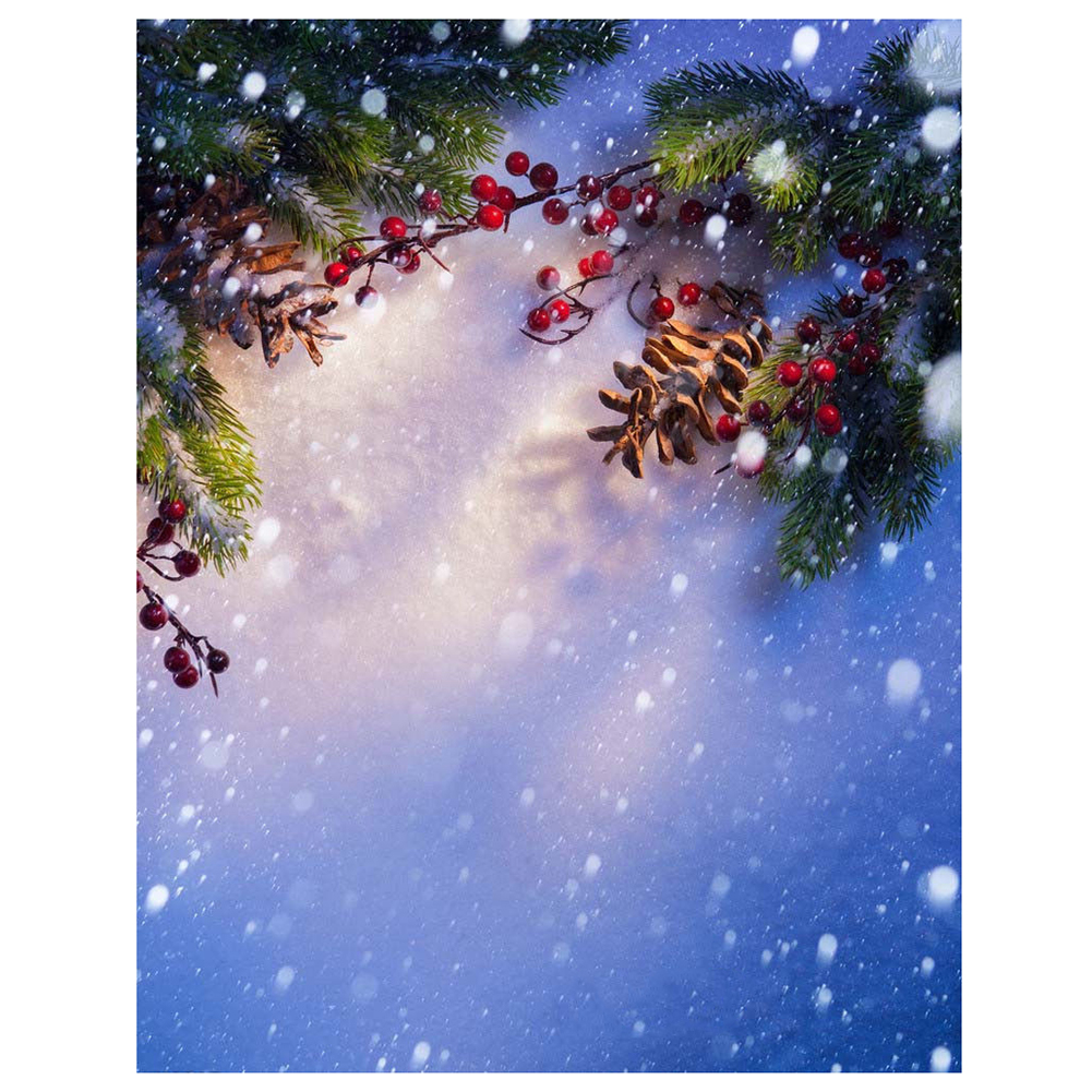 Christmas Snow Vinyl Studio Photography Backdrop Photo Background 5X7ft christmas background pictures vinyl tree wreath gift window child photocall fairy tale wonderland camera photo studio backdrop