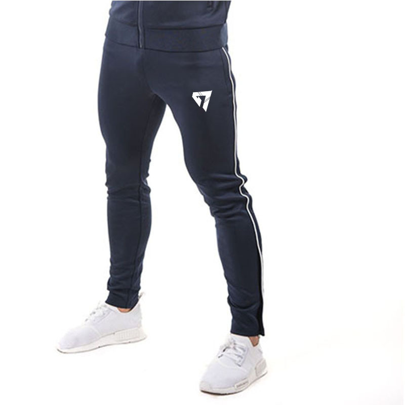 GYMOHYEAH Gyms Clothing In Men Pants Men Fashion Jogger Pants Skinny Casual Trousers Pants Top Quality Sweatpants Men's Clothing