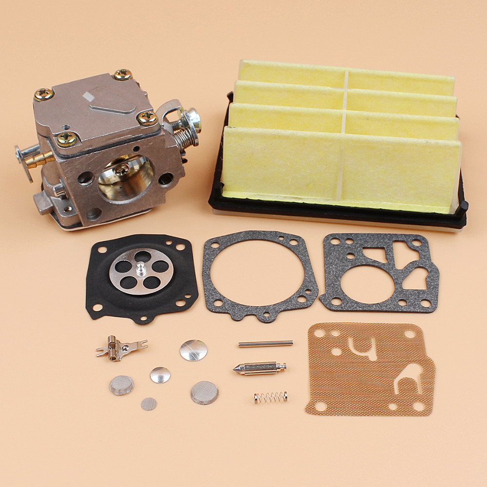 Carburetor Carb Air Filter Repair Kit For HUSQVARNA 272 XP 272XP 268 Chainsaw Parts Tillotson RK-23HS HS254B, 503 44 72 03 5 set carburetor carb repair gasket kit for husqvarna 50 51 55 chainsaw parts