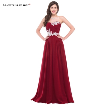vestido madrinha 2019 new chiffon beaded halter A Line burgundy mint green pink purple light blue bridesmaid dresses long