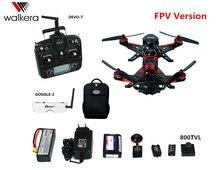 Walkera pelari 250 muka Drone 5.8 G FPV sistem GPS dengan kamera hd, Balap Quadcopter rtf, FPV versi