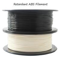 High strength 1.75mm Flame retardant ABS filament 0.8KG 3D Printer filament good toughness filament abs 3d plastic filament