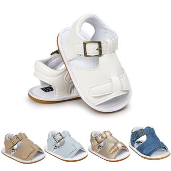 Baby Sandals Summer Toddler Kids Boys Girls Breathable Sandals Infant Anti Slip Crib Shoes Beach Shoes Children's Sandals