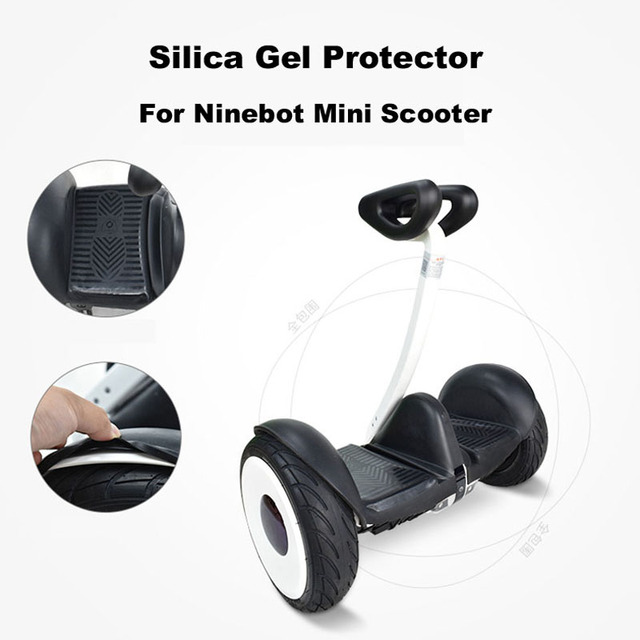 MiniLITE Scooter Silica Gel Cover Protection Cover Protection Skin Protective Cover for Xiaomi Mini Pro Electric Balance Scooter