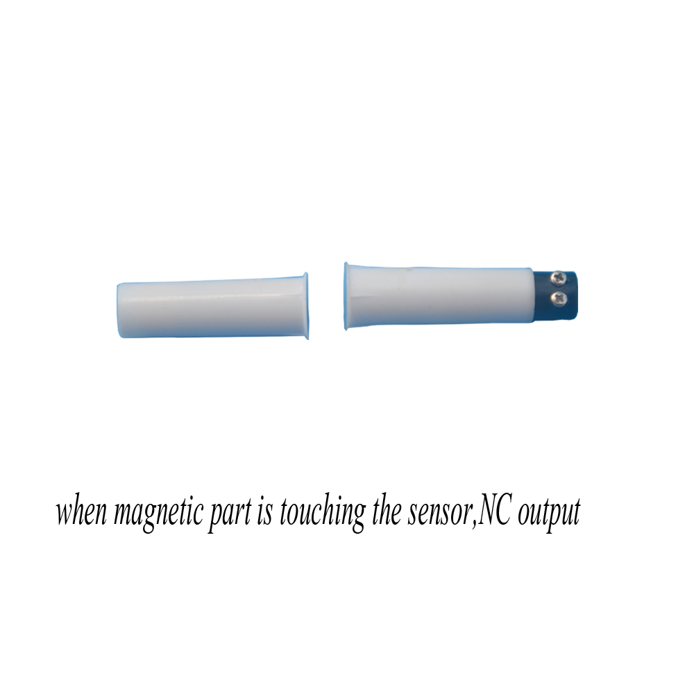 5 Sets of Magnetic Contact Reed Switches Recessed Contact with Terminals (White)| | |  - title=