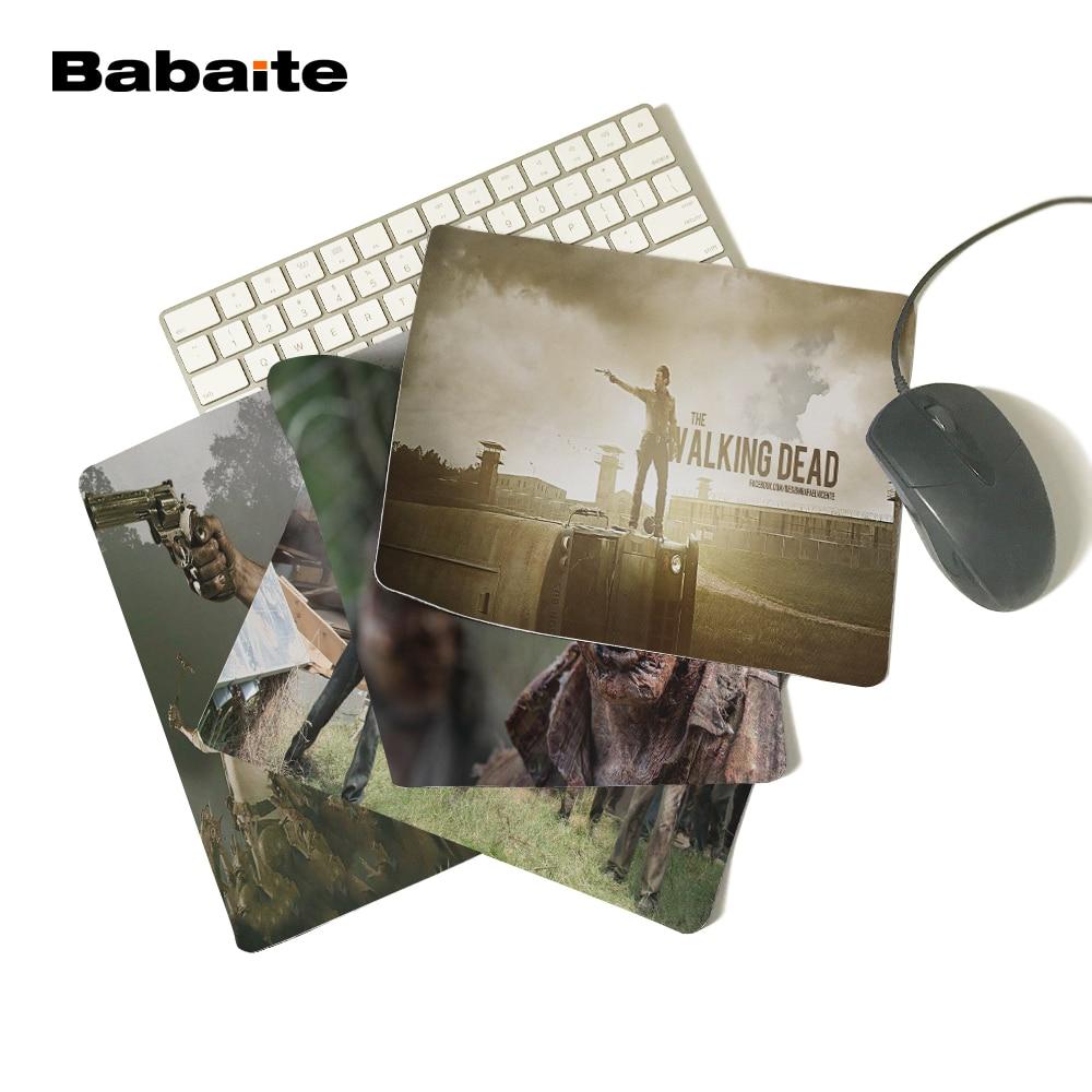 Yeni Varış Walking Dead Macera Survival TV Oynamak Özelleştirilmiş Mouse Pad Bilgisayar Dizüstü Fareler Mat Kaymaz Kauçuk Mousepad