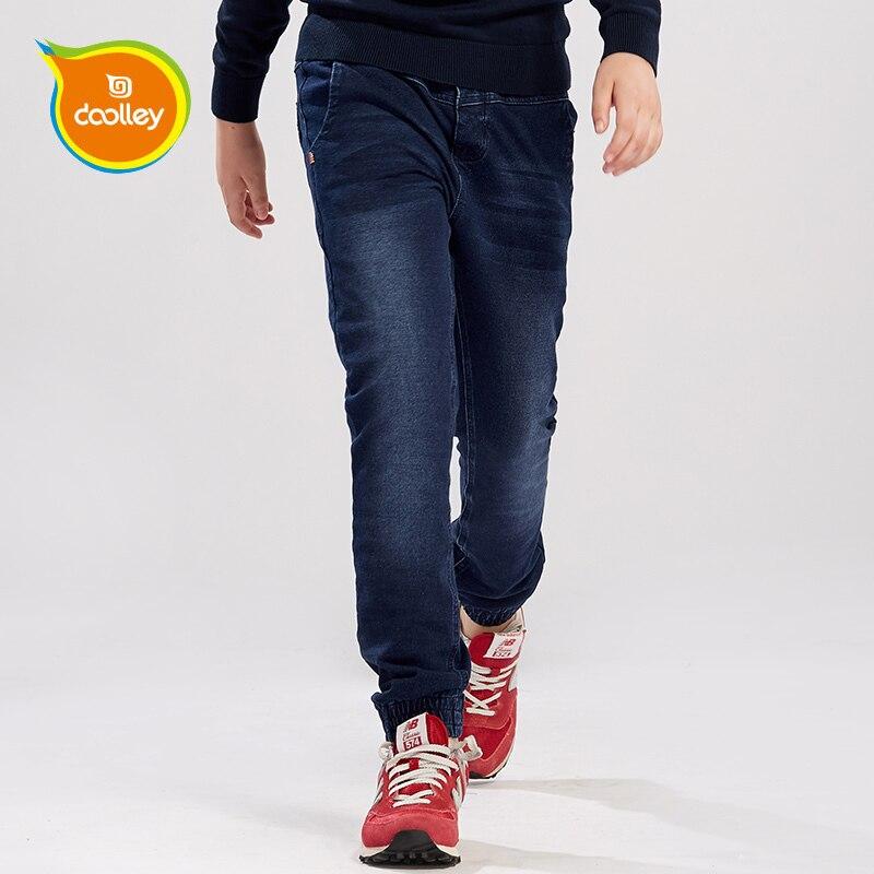 DOOLLEY Boy Fashion Jeans Brand Pants 2016 New Arrival Denim Trousers Children Clothing Size 130-170 cm