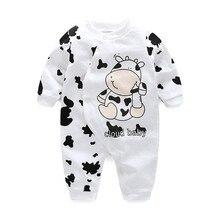 Фотография baby rompers 2017 new hot 100% cotton cartoon boy/girl/kids/newborn long sleeve cute clothing baby clothes