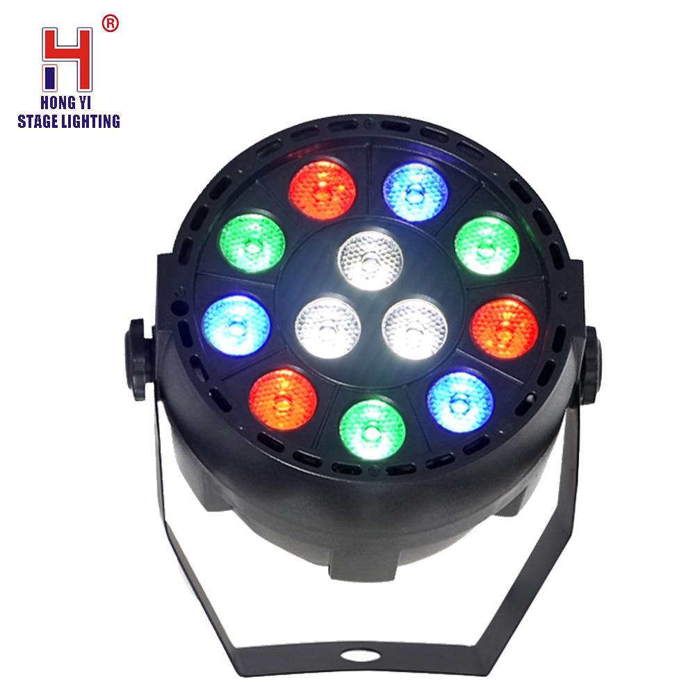 LED Par 12X3W RGBW Par Light LED DMX Stage Lighting Effect For Club Disco DJ