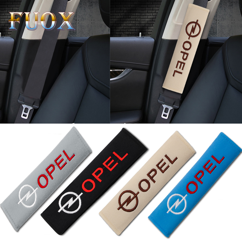 2pcs New Cotton Car-Styling Case For Opel Astra H G J Insignia Mokka Zafira Corsa Vectra C D Antara Accessories Car Styling