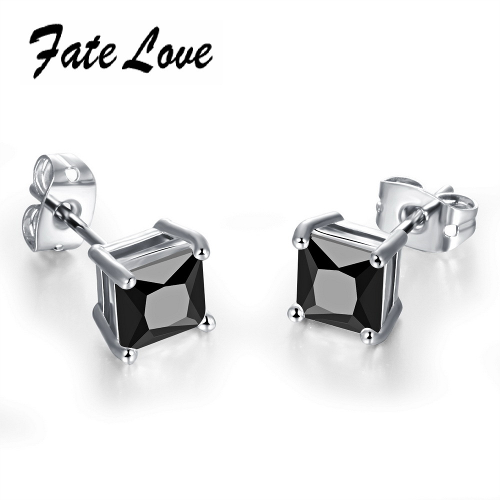 Fate Love Classic Women Earrings Gold Color AAA+ ...