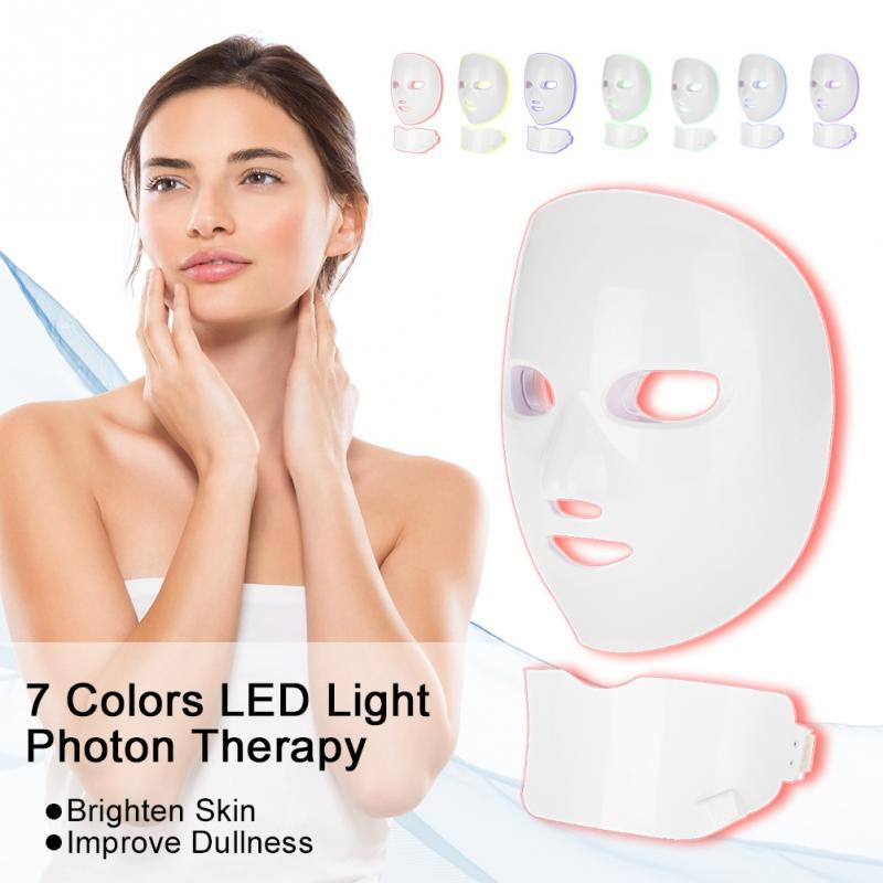 Здесь можно купить  New 7 Colors Photon Mask Skin Rejuvenation Face Neck Skin Tightening  Machine  Красота и здоровье