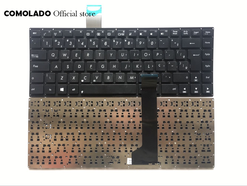 BR Brazil <font><b>Keyboard</b></font> for <font><b>ASUS</b></font> K46 K46CA K46CB <font><b>K46CM</b></font> S46C S46CB S46CM S46CA Black <font><b>Keyboard</b></font> BR Layout image