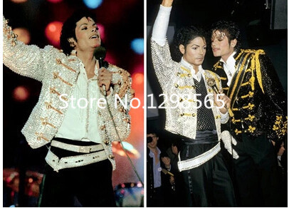 2015 Michael Jackson new dance stage costumes uniforms concerts Moonwalk stage costumes Size