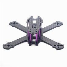 HSKRC TWE210 210mm Wheelbase 4mm Arm 3K Carbon Fiber X Type FPV Racing Frame Kit for RC Drone Multicopter DIY Motor Spare Parts
