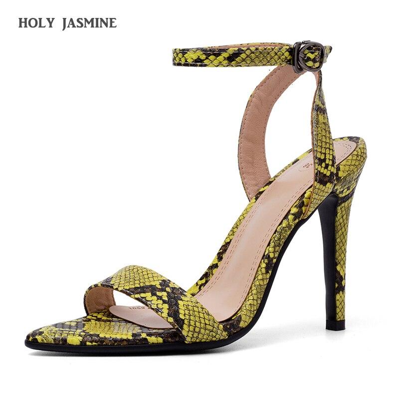 women sandals Serpentine gladiator sandalias mujer 2019 big girl shoes  soulier femme zandalias de verano