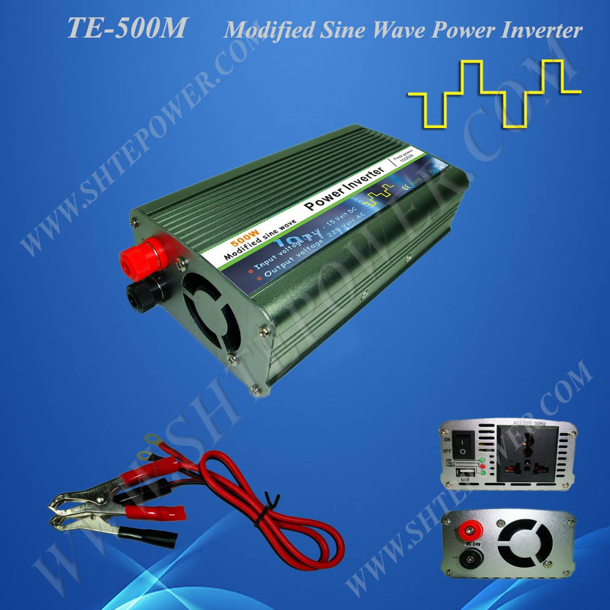 Emergency Power Supply dc 12v to ac 220v 500w Home Power Inverter meanwell 12v 350w ul certificated nes series switching power supply 85 264v ac to 12v dc