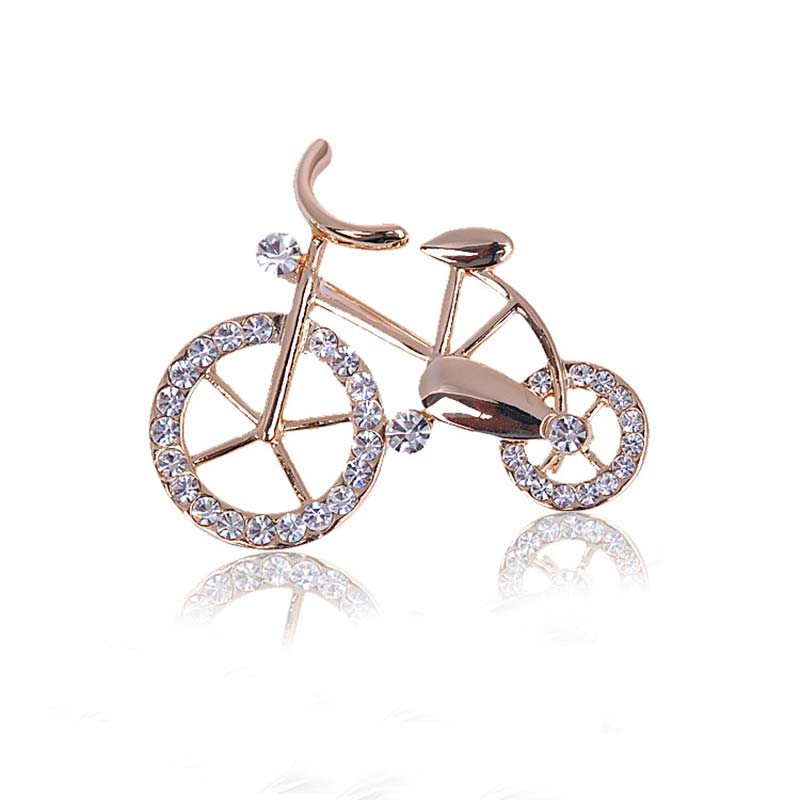 6pcs/lot rhinestone Bicycle brooches bodice Pins Brooch safety pin for craft brooches wedding pin garment pins fashion jewelry