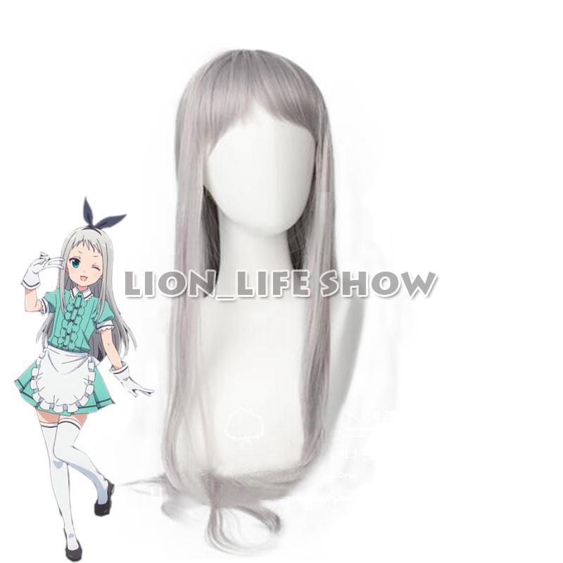 Japanese Anime Blend S Cosplay Kanzaki Hideri Hair Accessories Stile Cafe Sadistic Women Cosplay Synthetic Hair