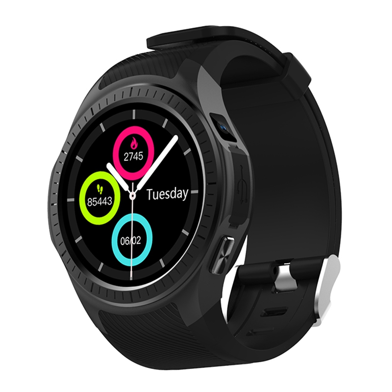 Microwear L1 Smartwatch Phone Bluetooth GPS Sport Watch Heart Rate Monitor Smart Watches Pedometer Sleep Monitor for Android IOS