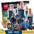 1115 шт. 2016 Новые Рыцари Fortrex Модель Строительные Блоки Детей Игрушки Совместимость С Lego Кирпича Горячие Продажи Nexus