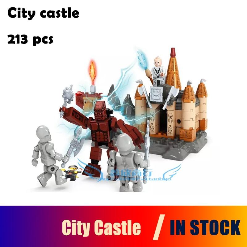 Model building kits compatible with lego city castle 213pcs 3D blocks Educational model & building toys hobbies for children