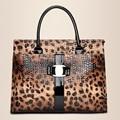 Outnice Дизайнерская модная дамская сумка женская PU кожи картины леопарда сумки женские с короткими ручками винтаж женщины сумку