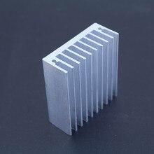 Frete grátis 1 pc 50*45*18mm dissipador de calor refrigeração fin cooler radiador alumínio dissipador de calor para led, potência ic transistor, módulo pbc