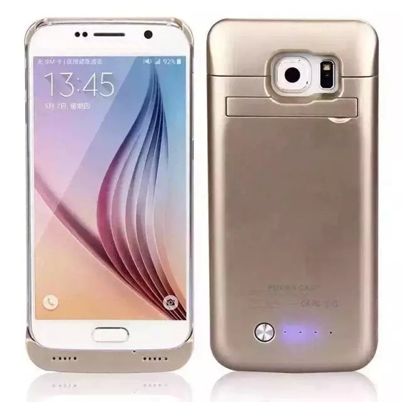 Extended 4200mAh Power Case For Samsung Galaxy S6 Battery Case for Galaxy S 6 Powerbank Charge Cover