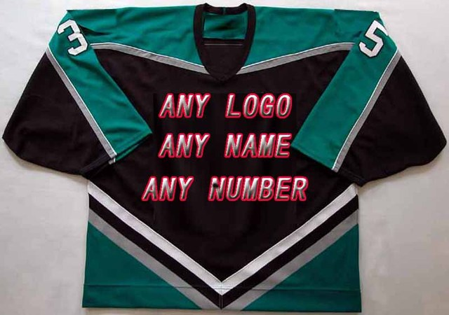 Free Shipping Factory OEM Hockey Jerseys Embroidery Mens Supplier Tackle  Twill Shirt USA CANADA Australia
