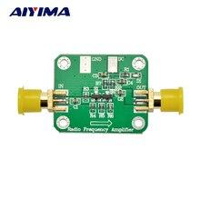 Высокочастотный усилитель AIYIMA, 10 кГц 1 ГГц, 10 дБм, широкополосные радиоусилители с низким уровнем шума, модуль LNA, HF, VHF, UHF, FM, Ham