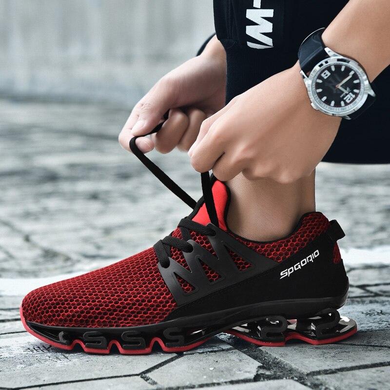 Men's Shoes 2018 Casual Shoes Men Breathable Spring Autumn Mesh Shoes Fashion Lace up Flats Comfortable Men Shoes XX 217
