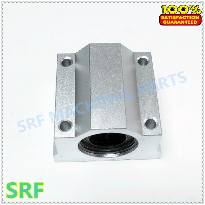 4 PCS Linear Ball Bearing Pillow Block Linear Unit FOR CNC SC10UU SCS10UU 10mm