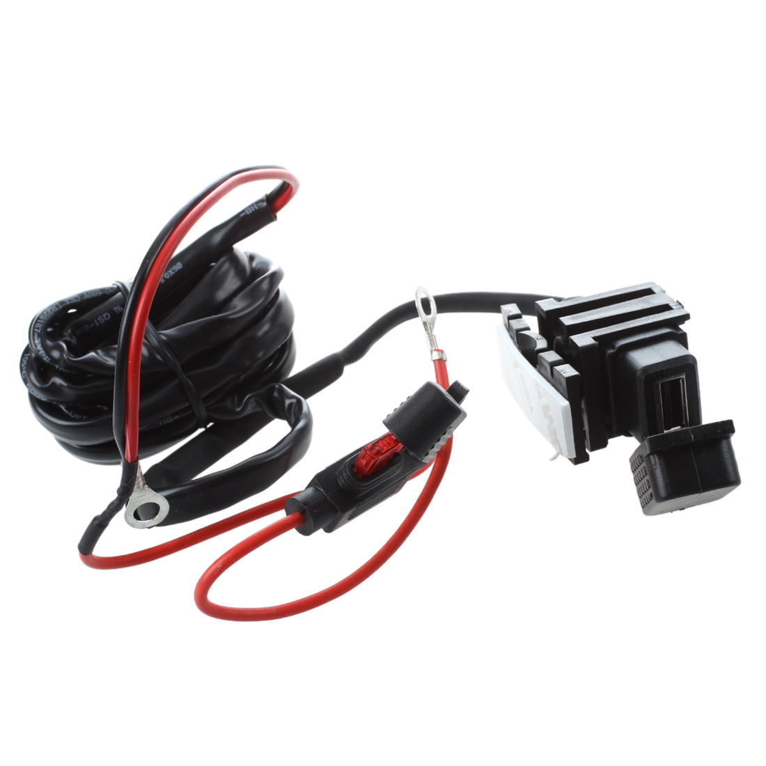 Motorcycle Bike USB Power Supply Port Socket Charger for Cell Phone 12V/24V
